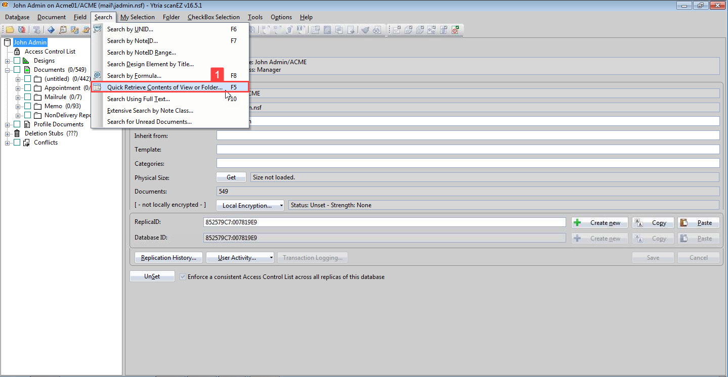 Export all files and attachments from a selection of documents - IBM
